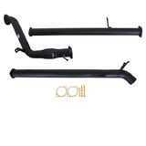 "FORD RANGER PX 3.2L 9/2011 - 9/2016 3"" TURBO BACK CARBON OFFROAD EXHAUST WITH PIPE & DIFF DUMP TAILPIPE"