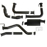 "NISSAN NAVARA D40 AUTO #DPF REPLACE# 2.5L YD25D 07 - 16 3"" TURBO BACK CARBON OFFROAD EXHAUST WITH CAT & MUFFLER"