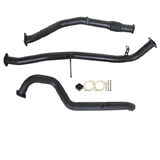 "NISSAN PATROL GU Y61 2.8L 1997 -2000 WAGON 3"" TURBO BACK CARBON OFFROAD EXHAUST WITH PIPE ONLY"