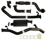 "TOYOTA LANDCRUISER 79 SERIES HDJ79R SINGLE CAB UTE 4.2L 2001 -2007 3"" TURBO BACK CARBON OFFROAD EXHAUST CAT & MUFFLER"